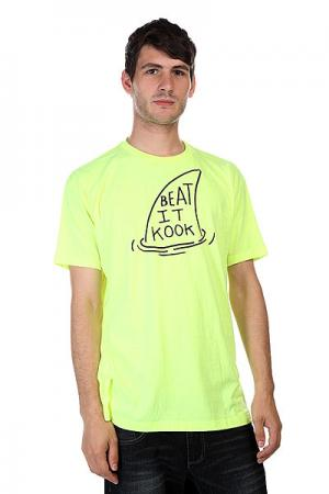 Футболка  Beat It Nyh Lost. Цвет: зеленый