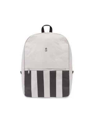 Рюкзак STRIPED URBAN FUN KRAFT. Цвет: серый, черный