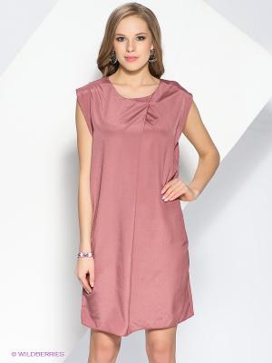 Платье Oltre. Цвет: бордовый