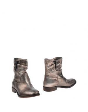 Полусапоги и высокие ботинки FRU.IT. Цвет: платиновый