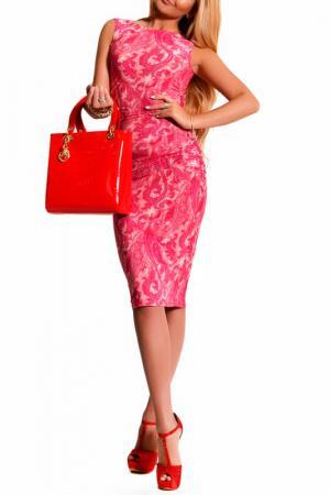 Платье LASKANY collezioni. Цвет: фуксия