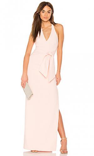 Вечернее платье stapleton LIKELY. Цвет: розовый
