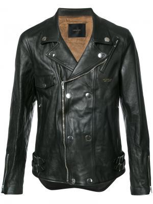 Байкерская куртка Undercover. Цвет: чёрный