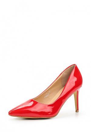 Туфли Catisa. Цвет: красный