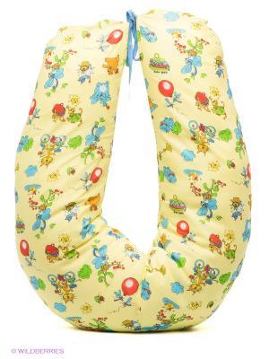 Подушка для беременных и кормящих ФЭСТ. Цвет: желтый