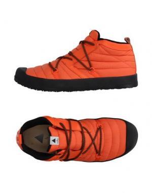 Высокие кеды и кроссовки VOLTA. Цвет: оранжевый