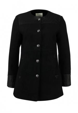 Пальто Softy. Цвет: черный