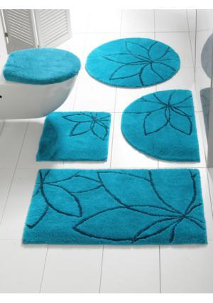 Коврик для ванной Heine Home. Цвет: зелено-синий, зеленый