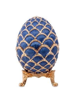 Шкатулка Яйцо Nobility. Цвет: синий