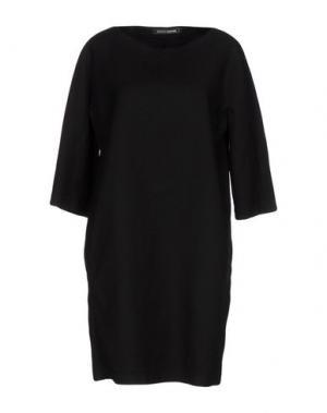 Короткое платье EUROPEAN CULTURE. Цвет: черный