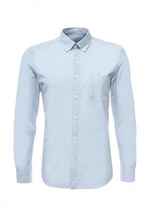 Рубашка Cortefiel. Цвет: голубой