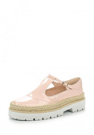 Ботинки Antonio Biaggi. Цвет: розовый