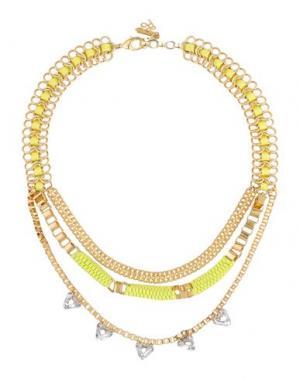 Ожерелье JOHN & PEARL. Цвет: золотистый