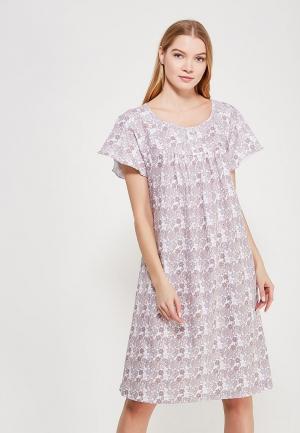 Сорочка ночная Лори. Цвет: бежевый