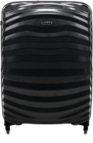 Чемодан на колесиках Lite-Shock Spinner Samsonite. Цвет: черный