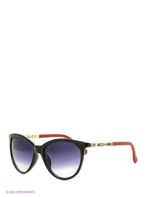 Солнцезащитные очки Vittorio Richi. Цвет: черный, красный