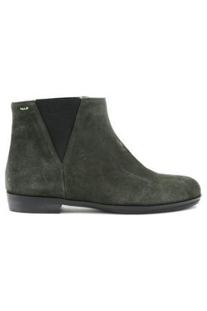 Ботинки Norma J. Baker. Цвет: черный, темно-зеленый