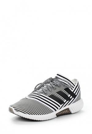 Бутсы зальные adidas Performance. Цвет: черно-белый