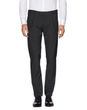 Повседневные брюки BRIGLIA 1949. Цвет: стальной серый