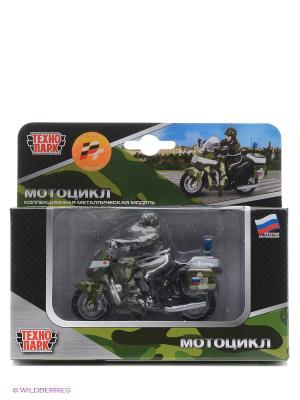 Мотоцикл Технопарк военный. Цвет: зеленый