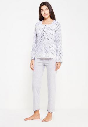 Пижама Cootaiya. Цвет: серый