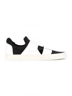Кожаные кроссовки Gloria Coelho. Цвет: чёрный