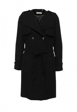 Пальто Naf. Цвет: черный