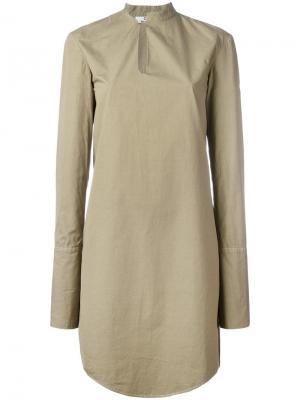 Платье Offset Chalayan. Цвет: зелёный