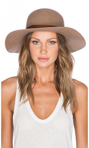Шляпа magdalena Brixton. Цвет: цвет загара