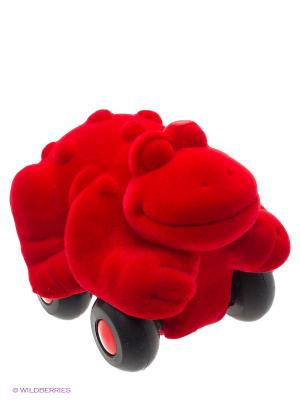 Лягушка Rubbabu. Цвет: красный
