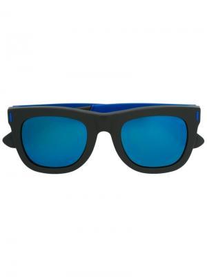 Солнцезащитные очки Ciccio Francis Squadra Retrosuperfuture. Цвет: чёрный