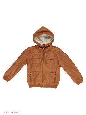 Куртка PEPE JEANS LONDON. Цвет: коричневый, серебристый
