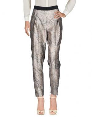 Повседневные брюки BY MALENE BIRGER. Цвет: платиновый
