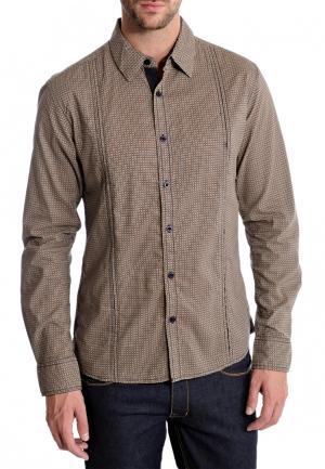 Рубашка MAVANGO. Цвет: бежевый