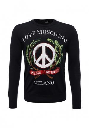 Джемпер Love Moschino. Цвет: синий