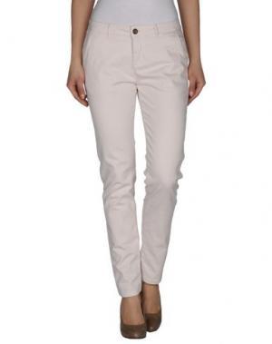 Повседневные брюки REIKO. Цвет: слоновая кость