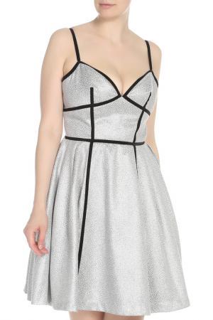 Платье Isabel Garcia. Цвет: wind chime, jet black, multico