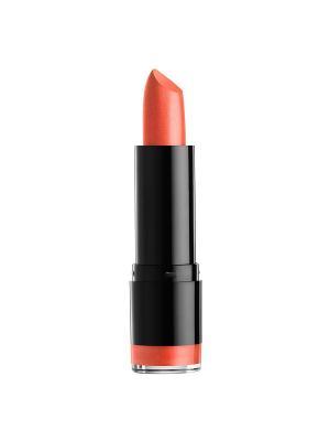 Кремовая губная помада ROUND LIPSTICK - PEACH BELLINI 593 NYX PROFESSIONAL MAKEUP. Цвет: оранжевый