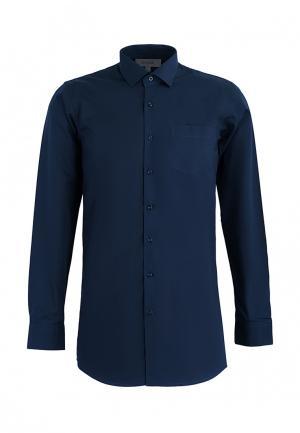 Рубашка Stenser. Цвет: синий