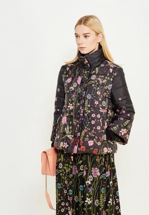 Куртка утепленная Blugirl Folies. Цвет: черный