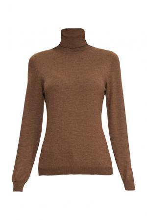 Джемпер из шелка с кашемиром 136705 Sweet Sweaters. Цвет: коричневый