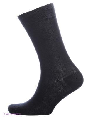 Носки, 2 пары Cascatto. Цвет: черный