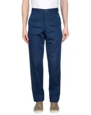 Повседневные брюки MARLBORO CLASSICS. Цвет: темно-синий