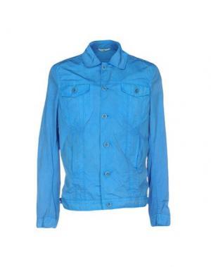 Куртка HEVÒ. Цвет: лазурный