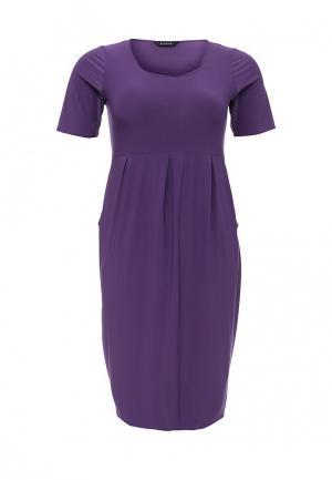 Платье Evans. Цвет: фиолетовый