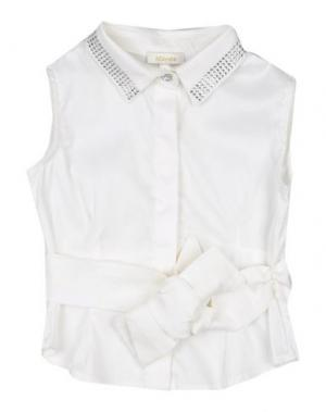 Pубашка MICROBE. Цвет: белый