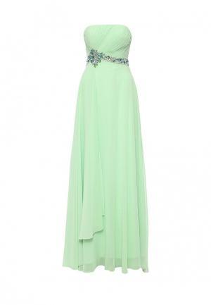 Платье To be Bride. Цвет: зеленый