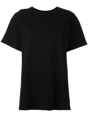 Классическая футболка Toteme. Цвет: чёрный