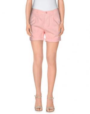 Повседневные шорты OAKS. Цвет: розовый