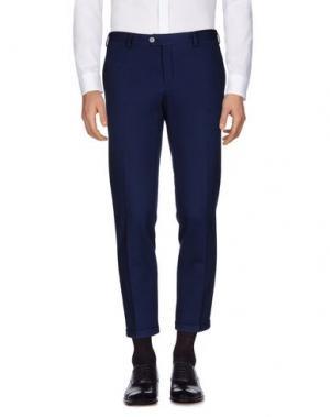 Повседневные брюки JOHN SHEEP. Цвет: синий